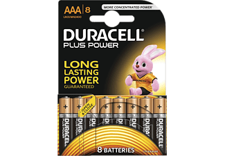 DURACELL Plus Power AAA (6+2) - (81470542)