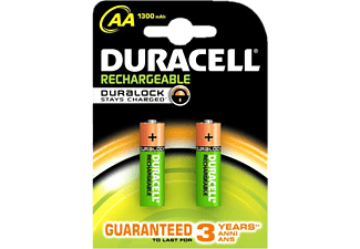 DURACELL Rechargeable 1300mAh AA - 2 τμχ - (81418228)