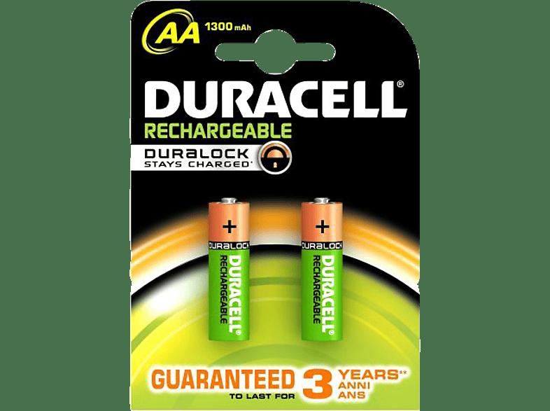 DURACELL Rechargeable 1300mAh AA - 2 τμχ - (81418228) τηλεόραση   ψυχαγωγία μην ξεχάσεις μπαταρίες  φορτιστές αξεσουάρ μπαταρίες  φορτ