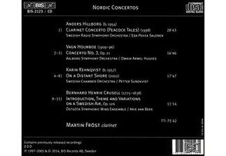 Martin Frost, VARIOUS - Nordic Concertos [CD]