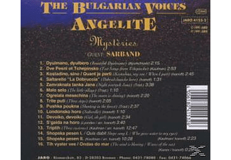 The Bulgarian Voices Angelite - Mysteries [CD]