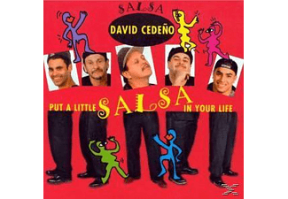 David Cedeno - Put A Little Salsa In Your Lifee - (CD)
