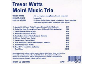 Moire Music Trio - Moir, [CD]