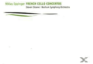 Niklas Eppinger;Bochum Symphony Orchestra - French Cello Concertos [CD]