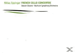 Niklas Eppinger;Bochum Symphony Orchestra - French Cello Concertos - (CD)