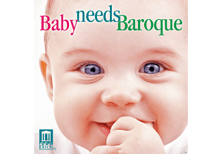 VARIOUS - Baby Needs Baroque - (CD)