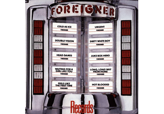 Foreigner - Records (CD)