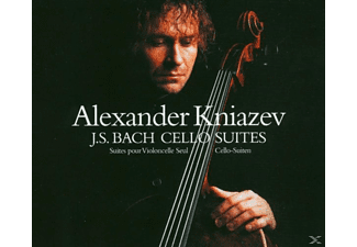 Alexander Kniazev - Cellosuiten 1-6 [CD]