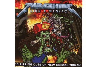 VARIOUS - Thrashing Like A Maniac - (CD)