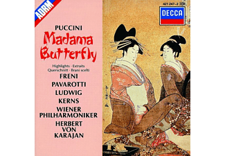 Wpo, Freni/Pavarotti/Karajan/WP - Madame Butterfly (Qs) - (CD)