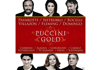 VARIOUS, Pavarotti/Netrebko/Villazon/Bocelli/Domingo/+ - Puccini Gold [CD]