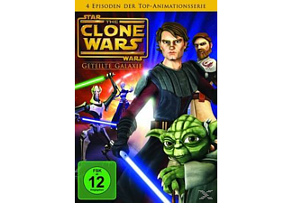 Star Wars - The Clone Wars 1 - Geteilte Galaxie - (DVD)