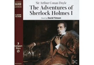THE ADVENTURES OF SHERLOCK HOLMES - 3 CD -