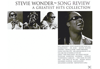 Stevie Wonder - Song Review-A Greatest Hits Collection | CD