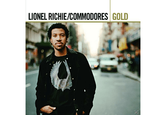 The Commodores, Lionel & Commodores Richie - Gold - (CD)