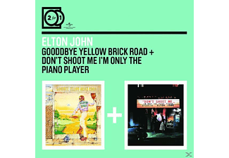 Elton John - 2 For 1: Goodbye Yellow/Don't Shoot Me I'm Only The Piano Player [CD]
