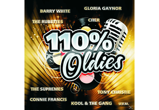 VARIOUS - 110% OLDIES [CD]