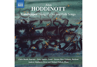 Booth/Spence/William - Landscapes: Song Cycles and Folk Songs - (CD)