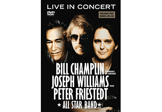 Peter Friestedt, Joseph Williams, Bill Champlin, All Star Band - ALL STAR BAND - LIVE IN CONCERT - (DVD + CD)
