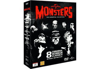 Monsters - The Essential Collection Skräck DVD