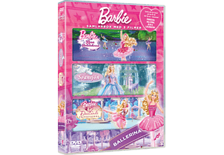 Barbie - Ballerina Box Animation / Tecknat DVD