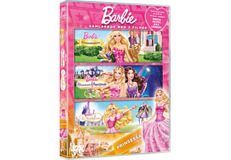 Barbie - Prinsessa Box Animation / Tecknat DVD