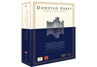 Downton Abbey S1-4 + 3 Specials Box Drama DVD