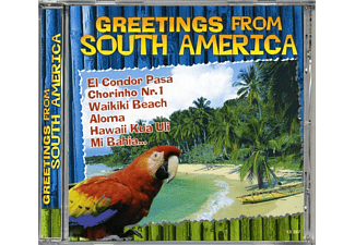 VARIOUS - Greetings From South America [CD]