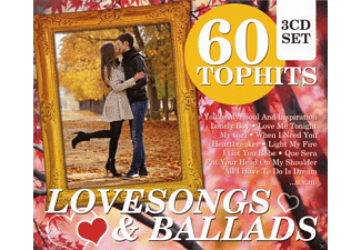 VARIOUS - 60 Top Hits - Lovesongs & Ballads [CD]