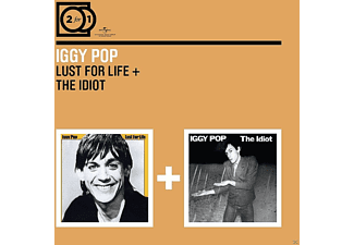 Iggy Pop - 2 For 1: Lust For Life/The Idiot [CD]