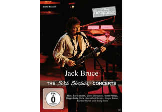 Jack Bruce - ROCKPALAST - THE 50TH BIRTHDAY CONCERTS - (DVD)