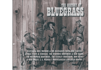 Various - The History Of Bluegrass [CD]