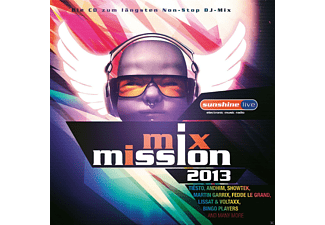 VARIOUS - Sunshine Live Mix Mission 2013 - (CD)