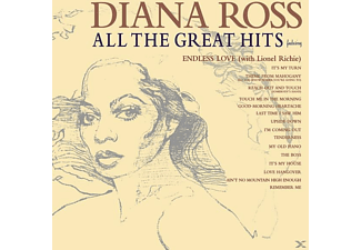 Diana Ross ALL THE GREAT HITS Pop CD