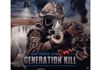 Generation Kill - Red White And Blood - (CD)