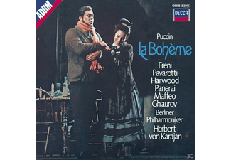 Carl August Nielsen, Freni/Pavarotti/Karajan/BP - La Boheme (Ga) - (CD)