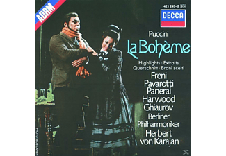 Carl August Nielsen, Freni/Pavarotti/Karajan/BP - La Boheme (Qs) [CD]