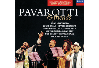 VARIOUS, Pavarotti/Sting/Zucchero/Dalla/Vega/Geldof/+ - Pavarotti & Friends - (CD)