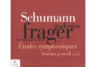 Malcolm Frager - Etudes Symphoniques op.13/Sonate In G-moll op.22 - (CD)