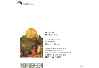 Emma Kirkby, Kirkby/Nelson/Watkinson/Elliot/Thomas/Hogwood/AAM - Der Messias (Ga, Foundling Hospital Version) - (CD)