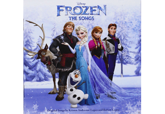 VARIOUS - Frozen (Die Eiskönigin): The Songs, Englisch [CD]