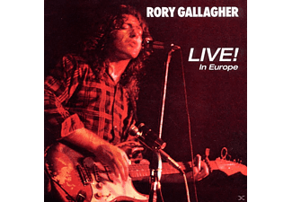 Rory Gallagher - Live! In Europe - (CD)