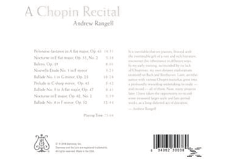Andrew Rangell - A Chopin Recital [CD]