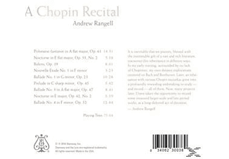 Andrew Rangell - A Chopin Recital - (CD)