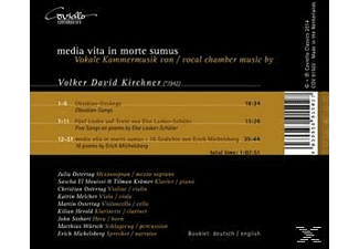 Various - Media Vita In Morte Sumus-Vokale Kammermusik - (CD)