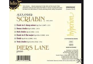 Piers Lane - Die Etüden [CD]