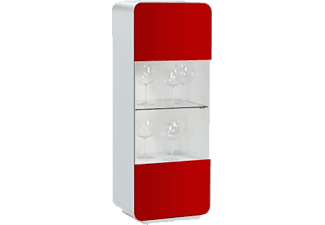 maja highboard 1283 wei hochglanz glas rot tv m bel g nstig bei saturn bestellen. Black Bedroom Furniture Sets. Home Design Ideas