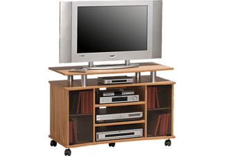 MAJA 73624843 7362, TV-Rack, Kernbuche - aluoptik
