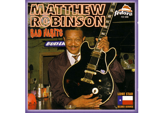 Matthew Robinson - Bad Habits - (CD)