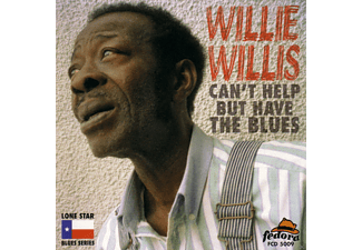 Willie Willis - Can't Help But Have The Blues - (CD)